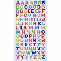 HobbyFun SoftySticker Großbuchstaben mehrfarbig 17,5x9cm