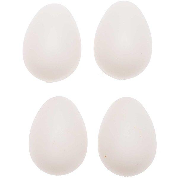 Kunststoffeier weiß 4cm 30 Stück