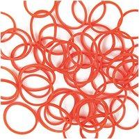 Jewellery Made by Me Loom Bänder orange ca. 200 Stück