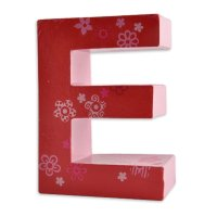 3D Pappbuchstaben
