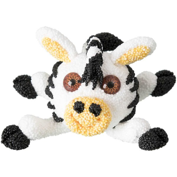 Rico Design Super Fluffy Foam Set Zebra 40g