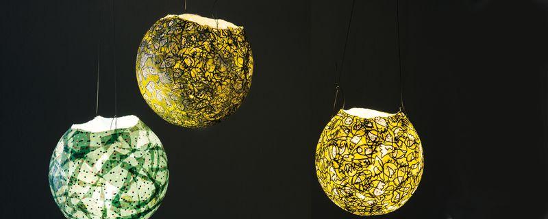 Lampions Aus Luftballons Basteln Gratis Anleitung