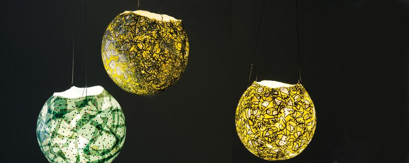 Relativ Lampions aus Luftballons basteln » Gratis Anleitung kostenlos nutzen AA63