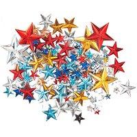 Rico Design Strass Sterne Mix mehrfarbig ca. 300 Stück