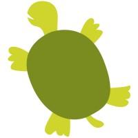 Rico Design Appliqué Schidkröte grün 6x10cm