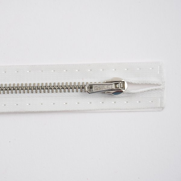 Prym Reißverschluss M2 weiß 16cm Metall