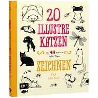 EMF 20 illustre Katzen zeichnen