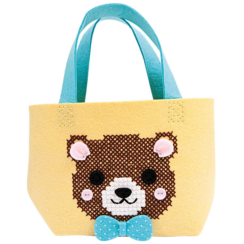 Rico Design Bastelset Filztasche für Kinder 'Bär'