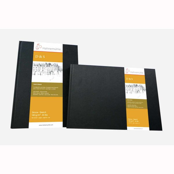 Hahnemühle Skizzenbuch D&S 140g/m² 80 Blatt