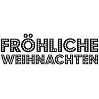 Rico Design Stempel Fröhliche Weihnachten 6,5x2,5cm
