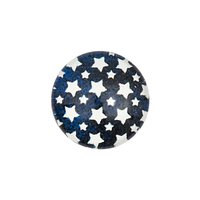 Jewellery Made by Me Cabochon Sterne dunkelblau 12mm Glas