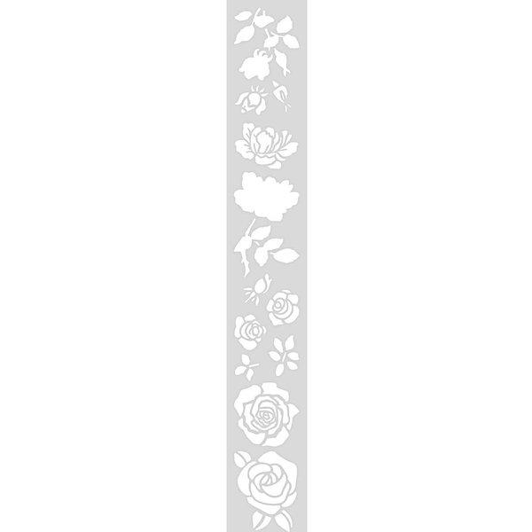Rico Design Schablone Rosen 10,5x70cm selbstklebend