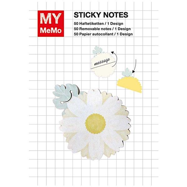 Rico Design Sticky Notes Gänseblümchen 50 Stück