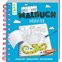 TOPP Mix-Max-Malbuch Monster