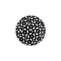 Jewellery Made by Me Cabochon Blumen schwarz-weiß 20mm Glas