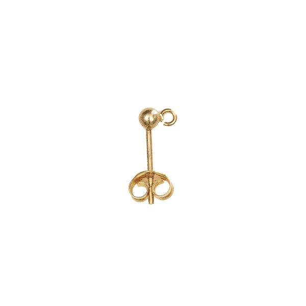 Jewellery Made by Me Ohrstecker vergoldet 925er Silber 2 Stück
