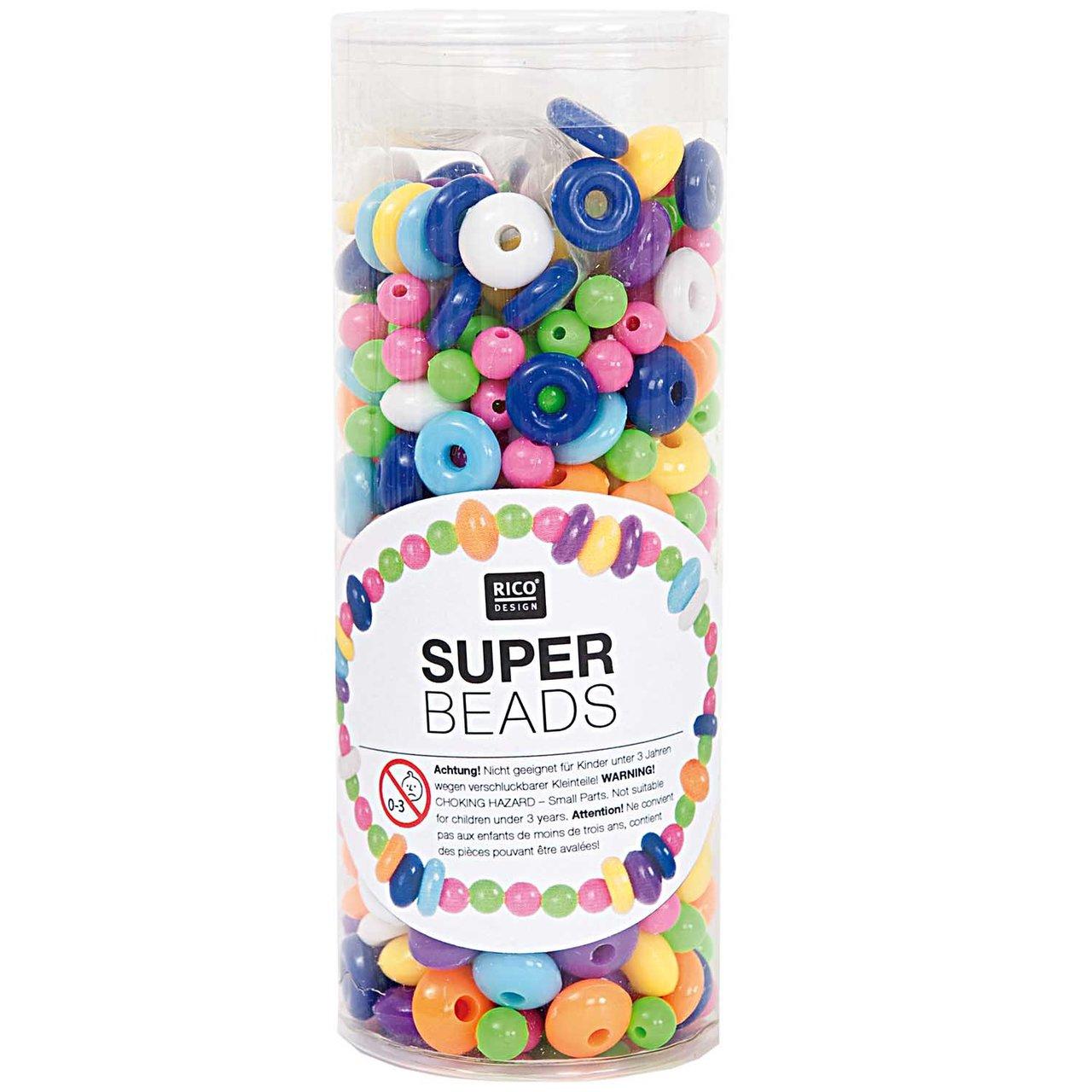 Rico Design Super Beads Set Nr.1 200g