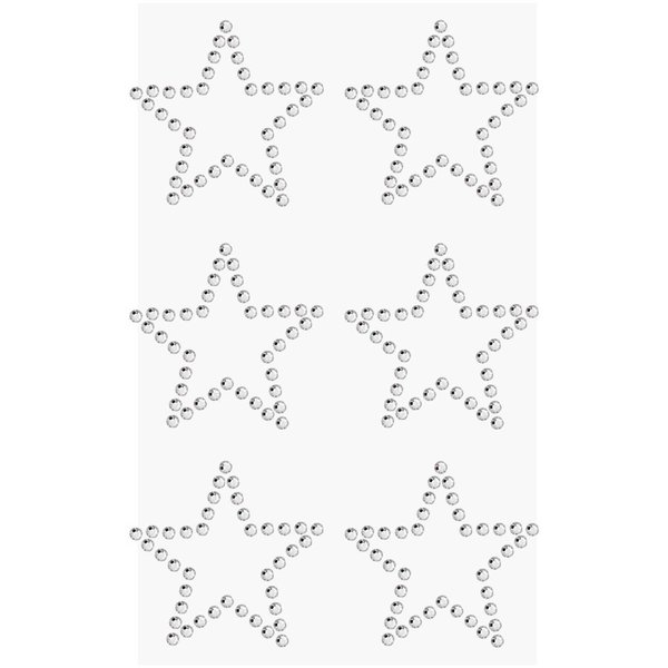 Paper Poetry Strass-Sticker Sterne crystal