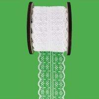 Spitzenband weiß 45mm 8m