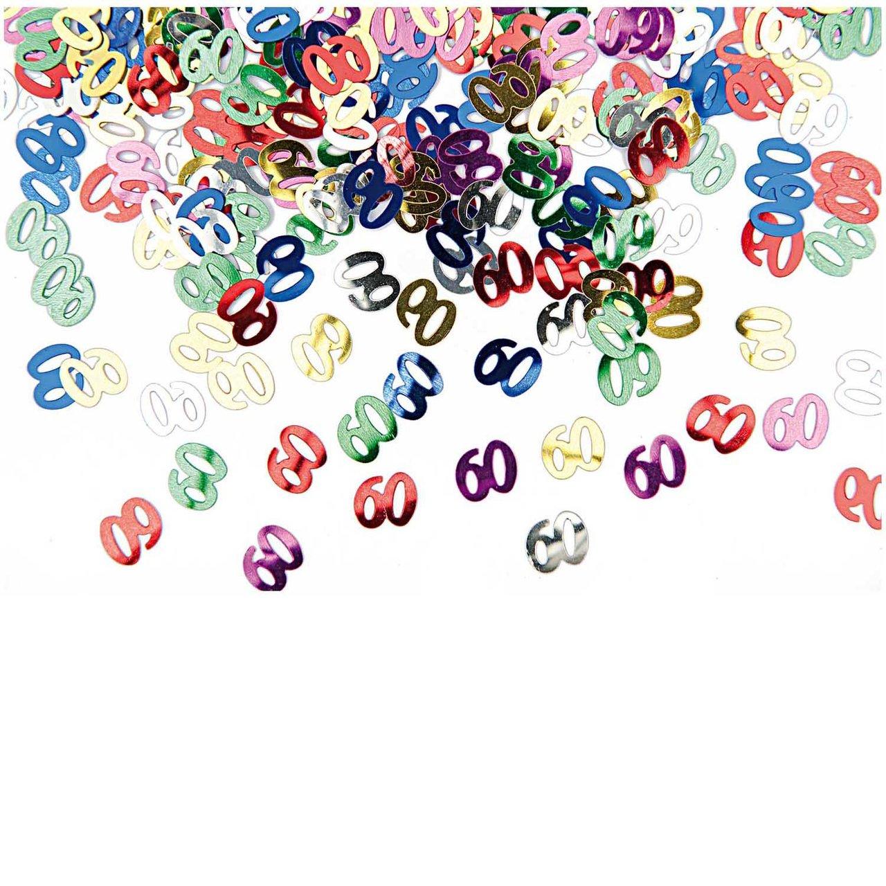 Rico Design Flitter Streu 60 mehrfarbig 10g