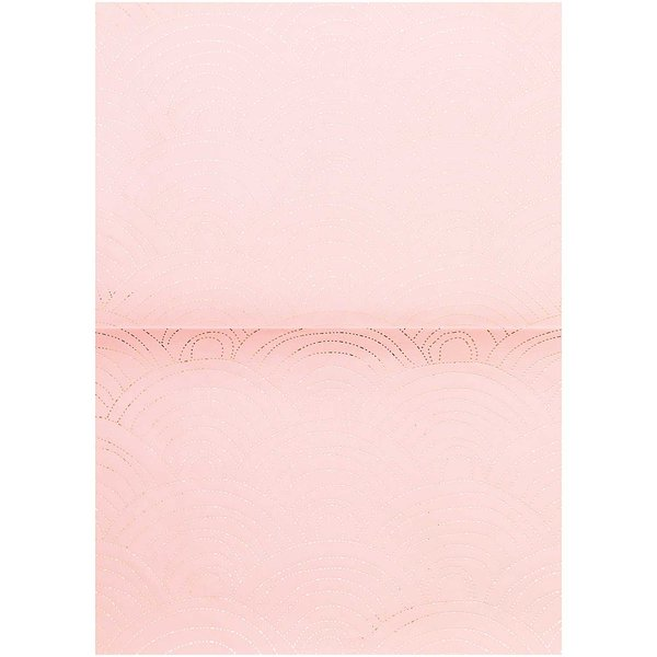 Rico Design Paper Patch Papier Jardin Japonais Wellen rosa 30x42cm