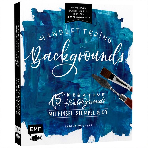EMF Handlettering Backgrounds - 15 kreative Hintergründe