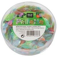 Rico Design Pailletten Mix Elfen pastell 55g
