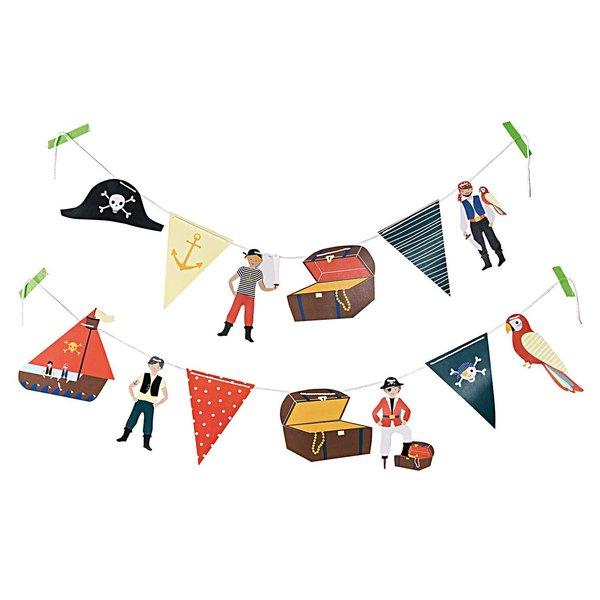 Paper Poetry Girlande Piraten 3m