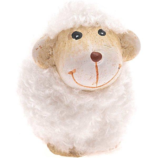 Keramik-Schaf weiß 4,5cm