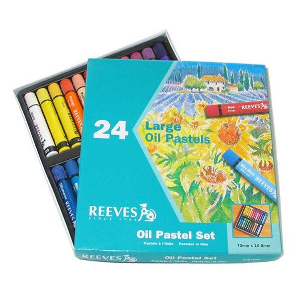reeves Ölpastellset 24er