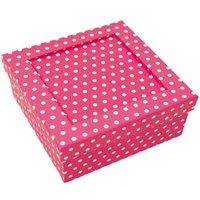Rico Design Pappbox azalee-weiß 13,8x13,8x6,8cm