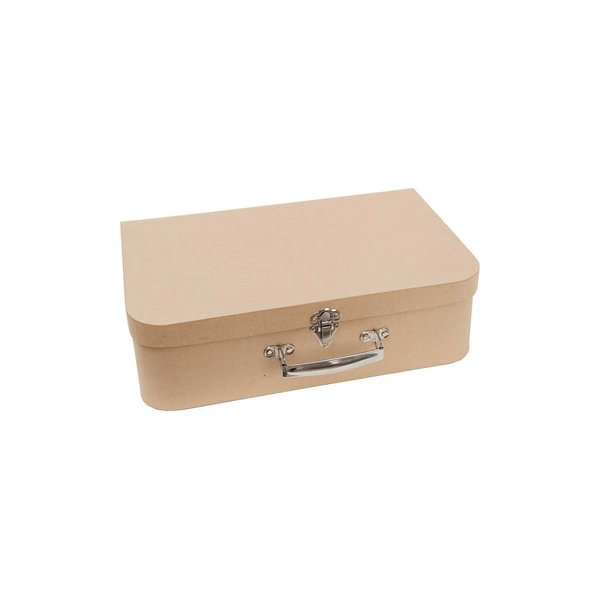 Rico Design Koffer natur 12x5x8cm Pappe