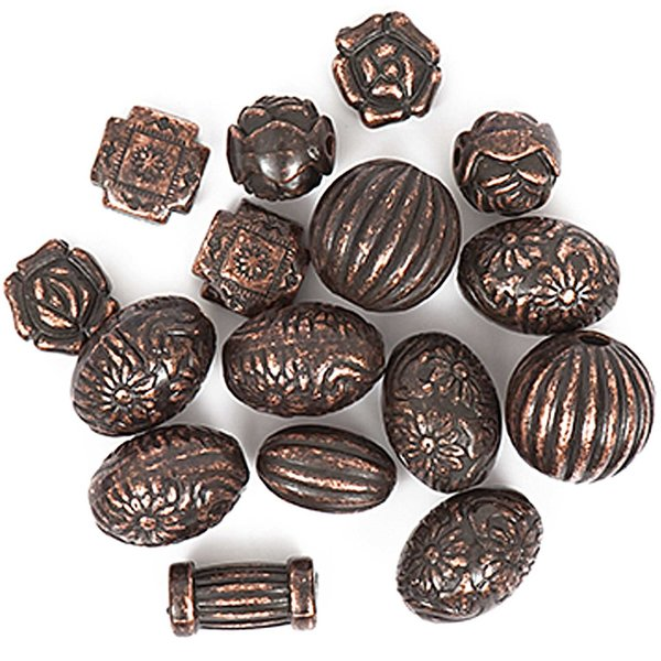 Jewellery Made by Me Perlemix antik kupferfarbig 40g