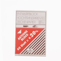 Canson Transparentpapier A4 90g/m² 60 Blatt