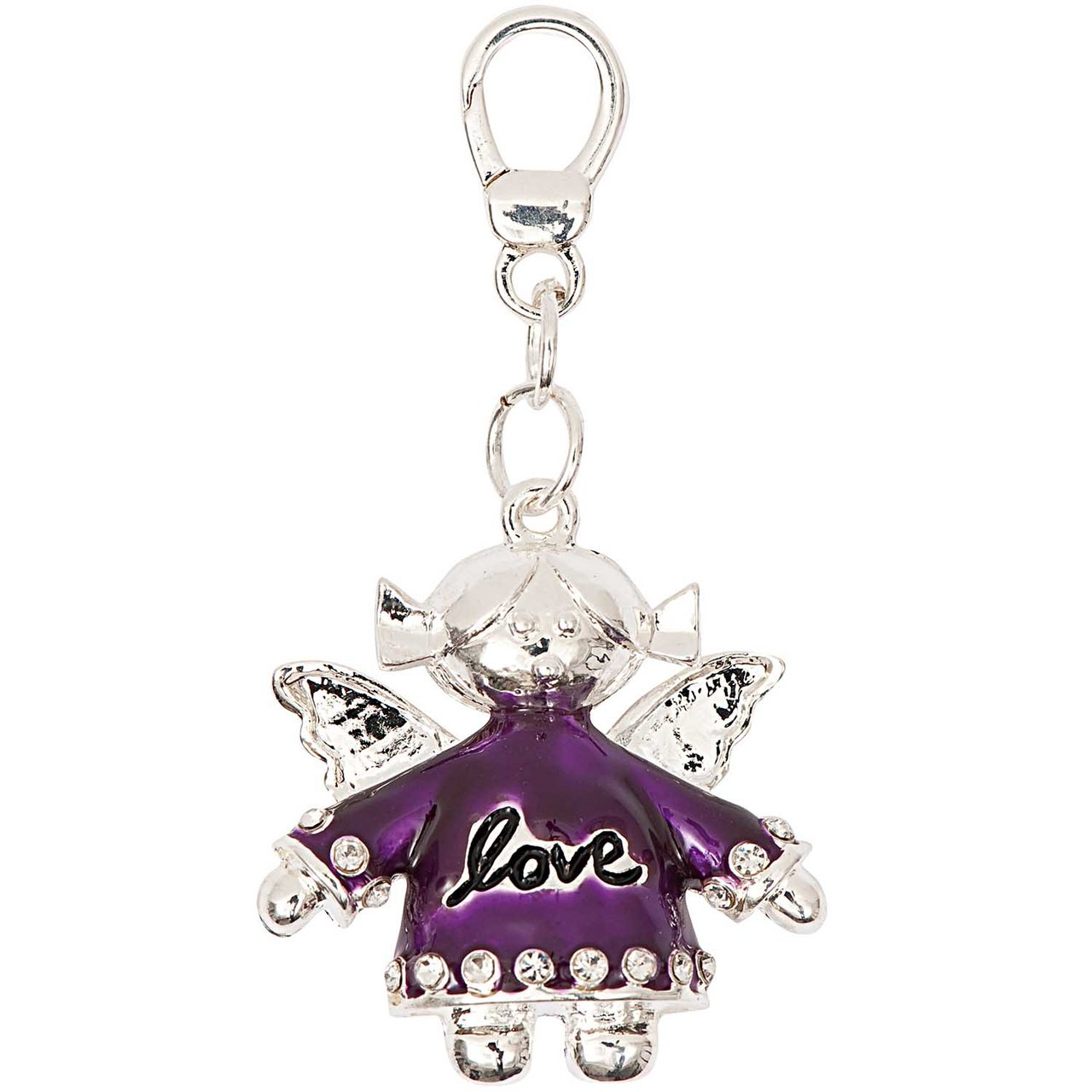 Jewellery Made by Me Big Charm Engel love 3,7x3,5cm