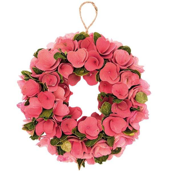Ohhh! Lovely! Holzblumenkranz rosa 26cm
