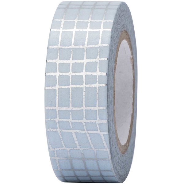 Paper Poetry Tape Gitter silber 15mm 10m Hot Foil