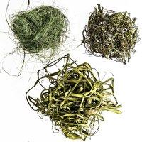 Natur Mix Sisal-Raffia-Tamarinde grün