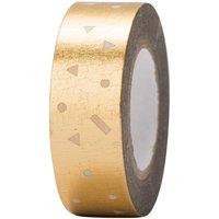 Paper Poetry Tape Konfetti gold 15mm 10m Hot Foil