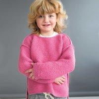 Strickanleitung Kinderpullover aus Soft Merino