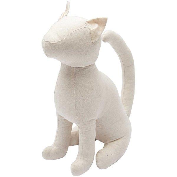 Rico Design Stofftier Kitty die Katze 21x12,5x29,5cm