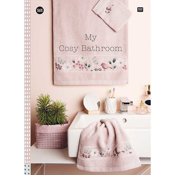 Rico Design Stickbuch Nr. 161 My Cosy Bathroom