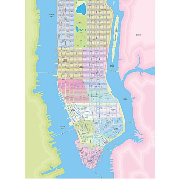 Rico Design Paper Patch Papier Manhattan 30x42cm