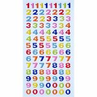 HobbyFun SoftySticker Zahlen mehrfarbig 17,5x9cm