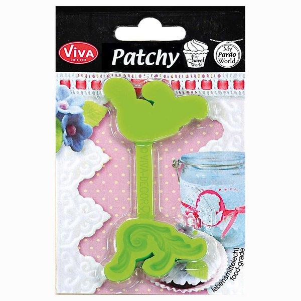 VIVA DECOR Patchy Schnörkel groß Motiv: ca. 3cm