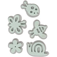 Rico Design Moosgummistempel Set Blumenwiese