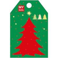 Rico Design Sticky Notes Weihnachtsbaum 50 Stück