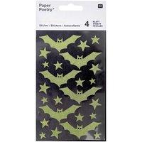 Paper Poetry Washi-Sticker Fledermäuse