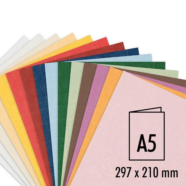 Artoz Serie 1001 Doppelkarten A5 220g/m² 5 Stück