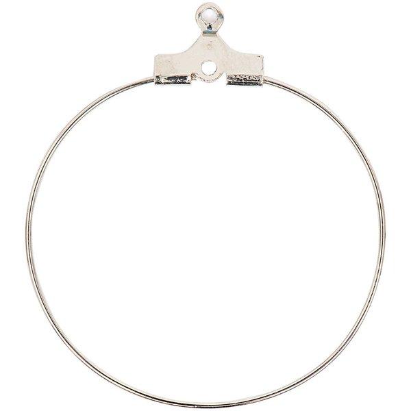 Jewellery Made by Me Creolen silber 30mm 2 Stück